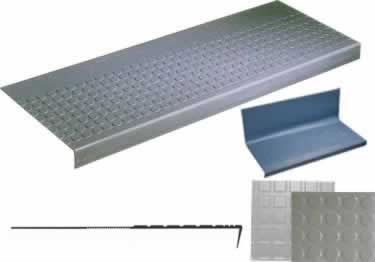Rubber Stair Treads-Non Slip One-Piece Tread and Riser