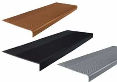 Rubber Stair Treads | Non Slip Safety Rib By Roppe�  large image 6