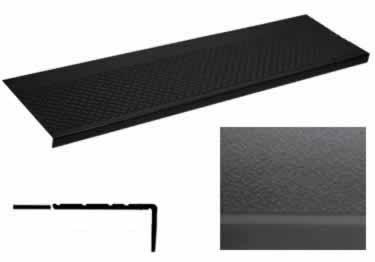 Rubber Stair Treads | Non Slip Pebble by Roppe� large image 5