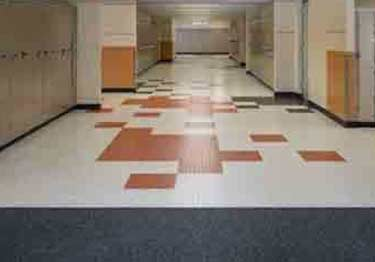 Mannington Rubber Floor Tiles