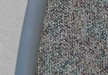 Roppe Vinyl Carpet Edging  large image 1
