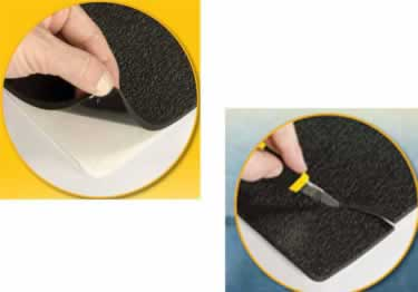 Non Slip Foam or Ribbed Adhesive Treads large image 6