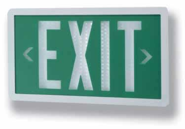 Isolite Self-Luminous Indoor Outdoor Exit Signs  large image 1