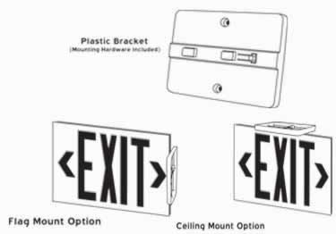 Photoluminescent Indoor/Outdoor Exit Signs-100ft. UL924 large image 7