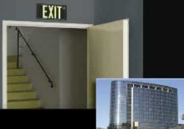 Photoluminescent Exit Signs Metal-50ft. UL Approved large image 7