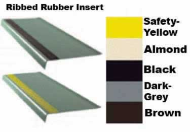 Rubber Stair Treads Safety Rib Non-Slip Strip by Roppe large image 8