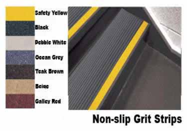 Rubber Stair Treads Safety Rib Non-Slip Strip by Roppe large image 9