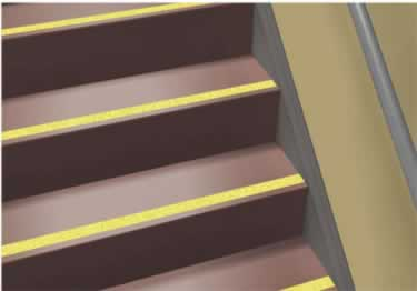 Roppe Rubber Stair Tread Smooth Design large image 4