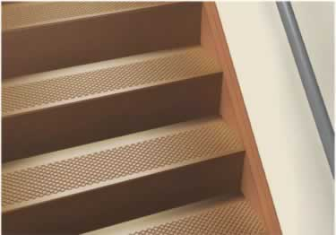 Roppe Rubber Stair Tread Non Slip Diamond Design large image 2