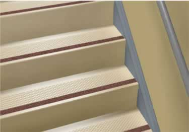 Roppe Rubber Stair Tread Non Slip Diamond Design large image 3