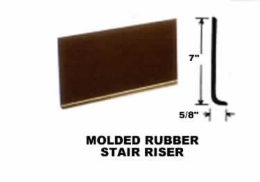 Roppe Rubber Stair Tread Non Slip Diamond Design large image 9