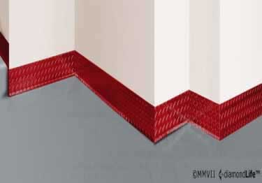 Diamond Plate Wall Base Molding large image 3