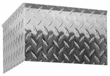 Diamond Plate Wall Crown Molding large image 9