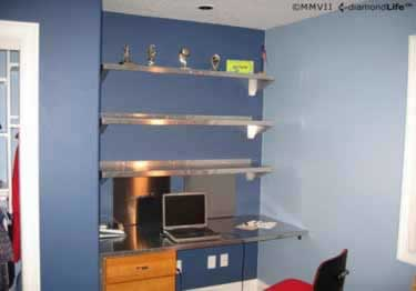 Diamond Plate Wall Shelves large image 2