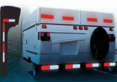 Conspicuity Tape Reflective Trailer DOT|C2 large image 4