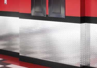 Diamond Plate Sheets, Wall Panels, and Tiles