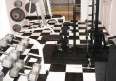 Diamond Plate Plastic Interlocking Floor Tile large image 2