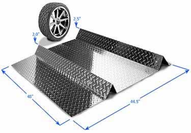 Diamond Plate Parking Spot large image 10
