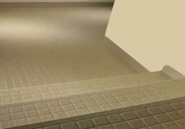 Johnsonite Rubber Stair Treads | Raised Square large image 1