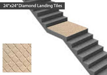 Johnsonite Rubber Stair Treads | Diamond Surface large image 10