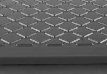 Johnsonite Rubber Stair Treads | Diamond Surface  large image 3