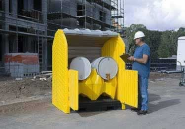 Spill Containment Pallets | Drain Protection