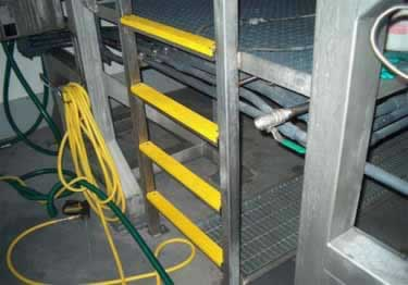 Ladder Rungs Non Slip Fiberglass Covers large image 1