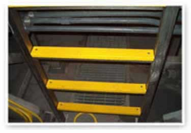Ladder Rungs Non Slip Fiberglass Covers large image 2