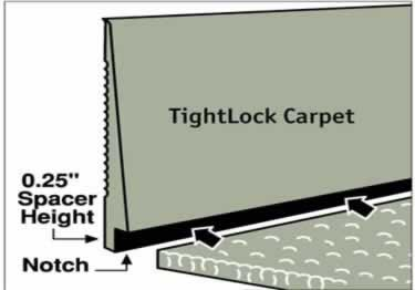 Johnsonite Tightlock Rubber Wall Base | Carpet and Floor large image 8