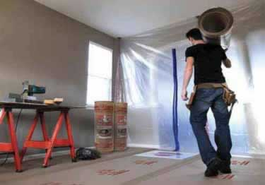 Water Resistant Builderboard Floor Protection