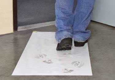 Dust Control Sticky Mats