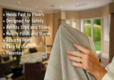 Painters Non-Slip Drop Cloth by CoverGrip large image 6