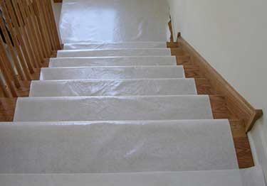 Floor and Stair Protection Film large image 7