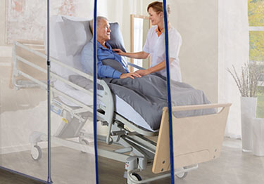 Quarantine Nursing Home Fire Retardant Barrier Film