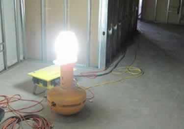 Wobblelight Portable Jobsite Lighting large image 2