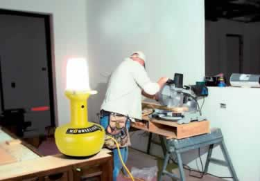 Wobblelight Portable Jobsite Lighting