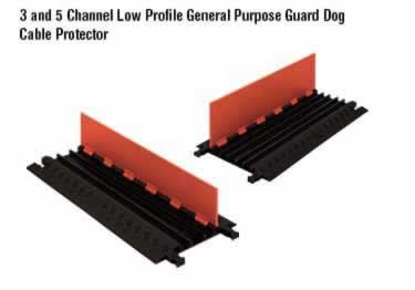 Guard Dog Cable Protector Low Profile 1, 2, 3, 5 Channel large image 3