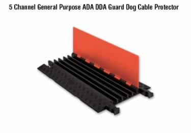 Guard Dog Cable Protector 5-Channel General Purpose ADA/DDA large image 16