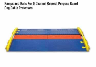 Guard Dog Cable Protector 5-Channel General Purpose ADA/DDA   large image 2