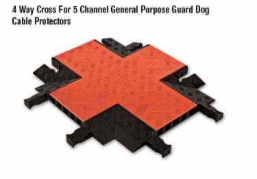 Guard Dog Cable Protector 5-Channel General Purpose ADA/DDA   large image 3