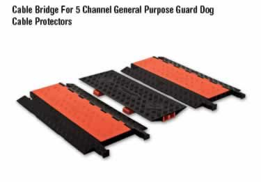 Guard Dog Cable Protector 5-Channel General Purpose ADA/DDA   large image 4