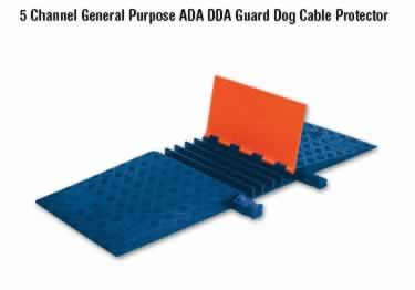 Guard Dog Cable Protector 5-Channel General Purpose ADA/DDA large image 6