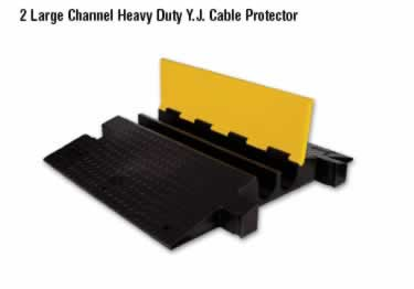Yellow Jacket Cable Protectors Large Channel Heavy Duty large image 1