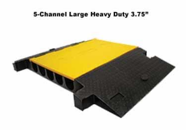 Yellow Jacket Cable Protectors Large Channel Heavy Duty large image 2