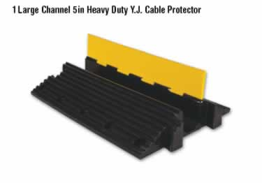 Yellow Jacket Cable Protectors Large Channel Heavy Duty large image 6