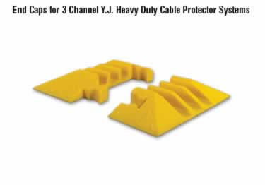 Yellow jacket Cable Protectors 3-Channel Heavy Duty  large image 1