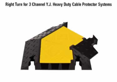 Yellow jacket Cable Protectors 3-Channel Heavy Duty  large image 2