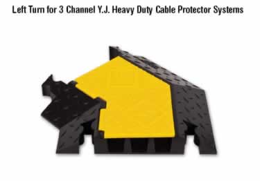 Yellow jacket Cable Protectors 3-Channel Heavy Duty  large image 3