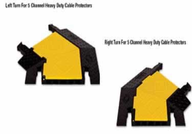 Yellow Jacket Cable Protectors 5-Channel Heavy Duty  large image 3
