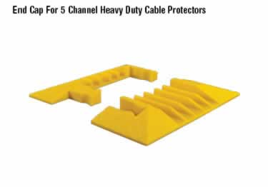 Yellow Jacket Cable Protectors 5-Channel Heavy Duty  large image 8